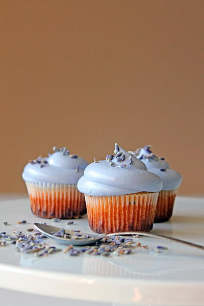 Lovely Lavender Cupcake Recipe