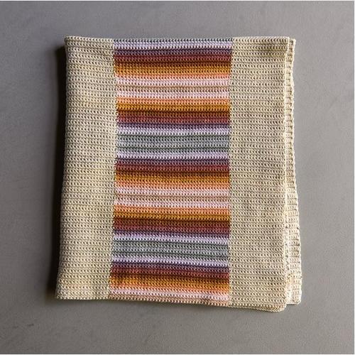 Stacked Coins Single Crochet Blanket Allfreecrochetafghanpatternscom