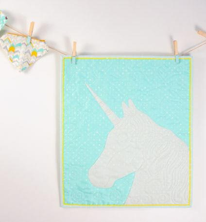 Mythical Unicorn Applique Wallhanging Favequilts Com