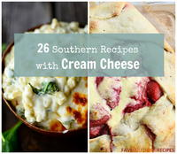 26 Southern Recipes with Cream Cheese