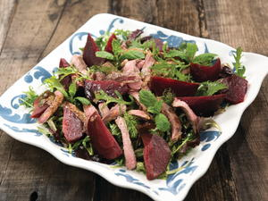 Seared Lamb and Beetroot Salad