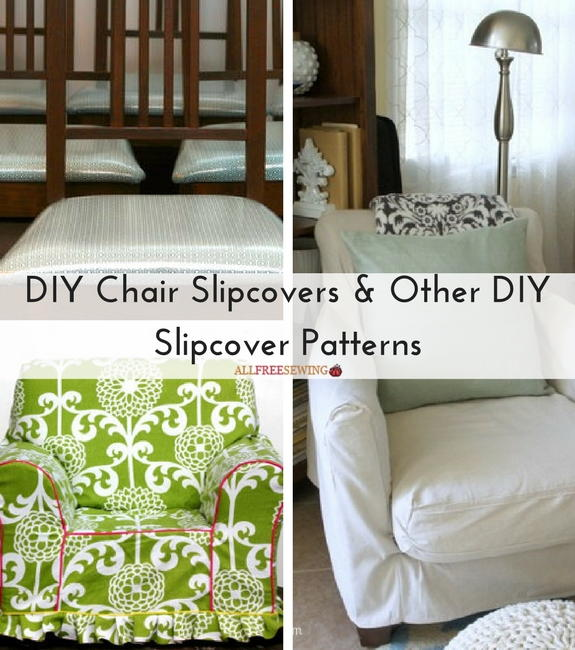 Diy Chair Slipcovers Amp Other Diy Slipcover Patterns