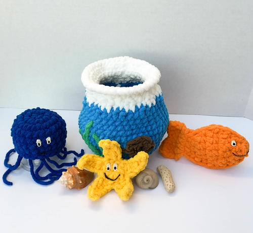 Crochet Pattern Water Balloon : Crochet Water Balloons AllFreeCrochet.com