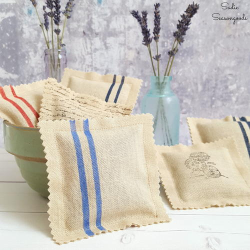 Rustic French Lavender Sachets