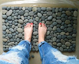 Genius Stone DIY Bath Mat