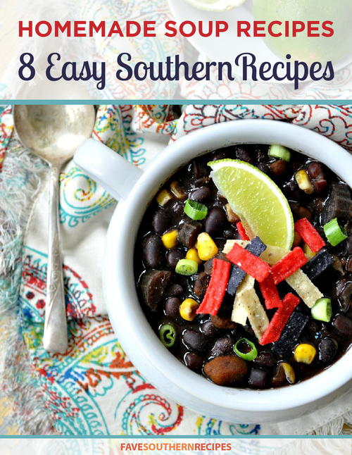 Homemade Soup Recipes 8 Easy Southern Recipes