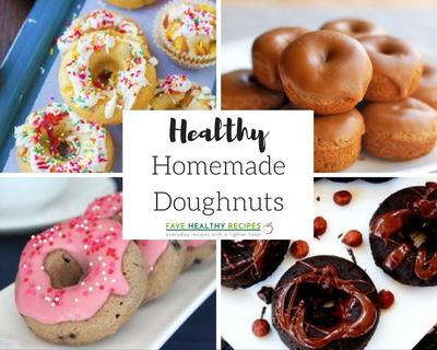 The Top 14 Recipes for Healthy Homemade Doughnuts