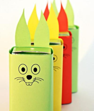 Cute Printable Easter Bunny Juice Box