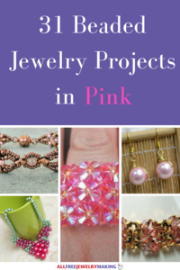 Beautiful Beading Patterns: 31 DIY Jewelry Projects in Pink