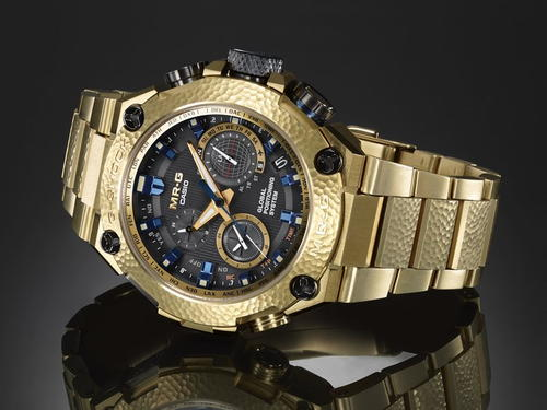 The Casio G-Shock Hammer Tone MRG-G10000HG-9A in Gold Review
