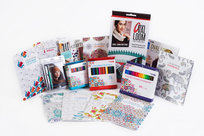 Leisure Arts Crazy Cool Crochet and Coloring Giveaway