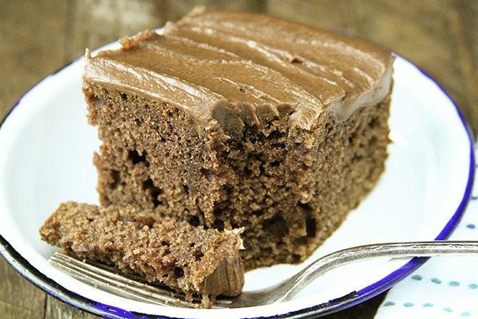 Irresistible Buttermilk Chocolate Cake