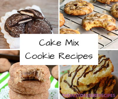 15 Cake Mix Cookie Recipes