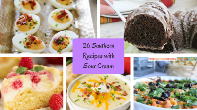 26 Southern Recipes with Sour Cream
