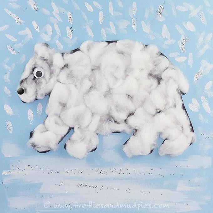Printable Polar Bear Craft AllFreeKidsCrafts