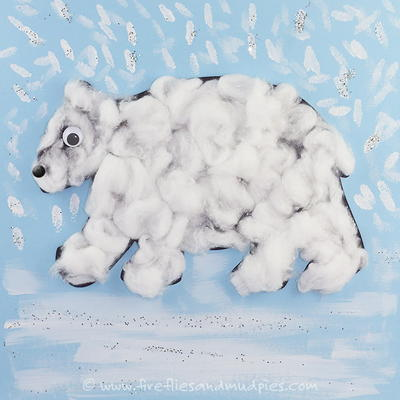 Printable Polar Bear Craft