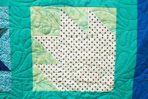How to Make a Bear Paw Quilt Block