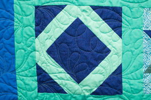 Lattice Square Quilt Block (Video Tutorial)