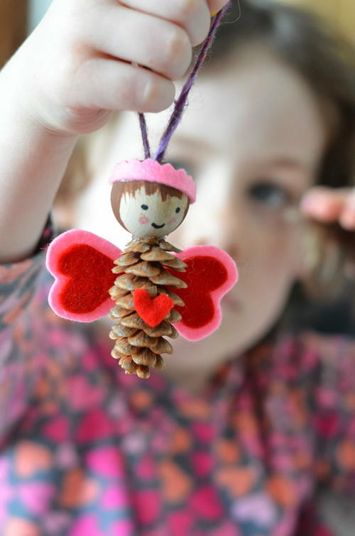 Pine Cone Love Fairy Craft