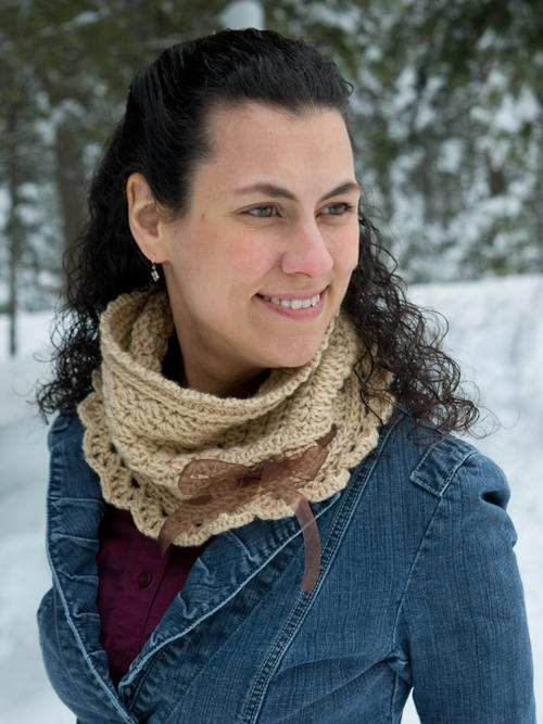 Ribbons and Grace Neck Warmer