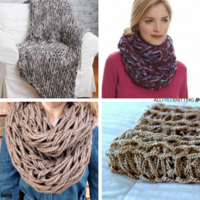 17 Easy Arm Knitting Patterns