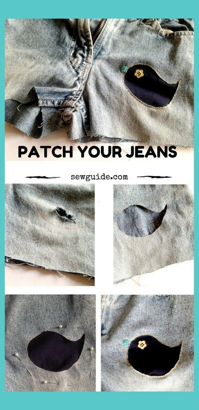 8 Ways to Sew Patches on Clothes
