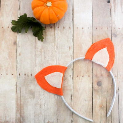 Felt Fox Ears Headband