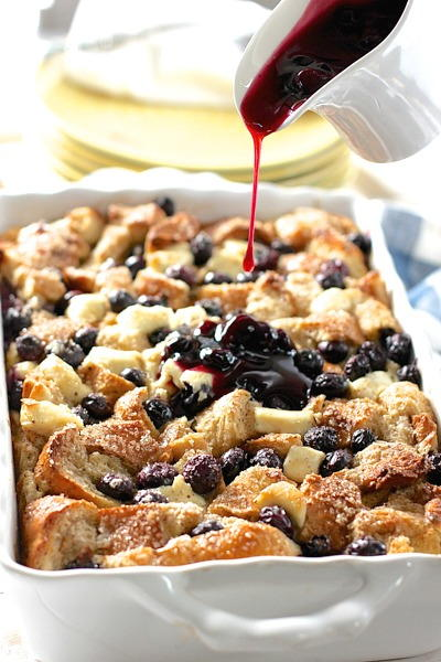 Blueberry and Cream Cheese French Toast Casserole ...