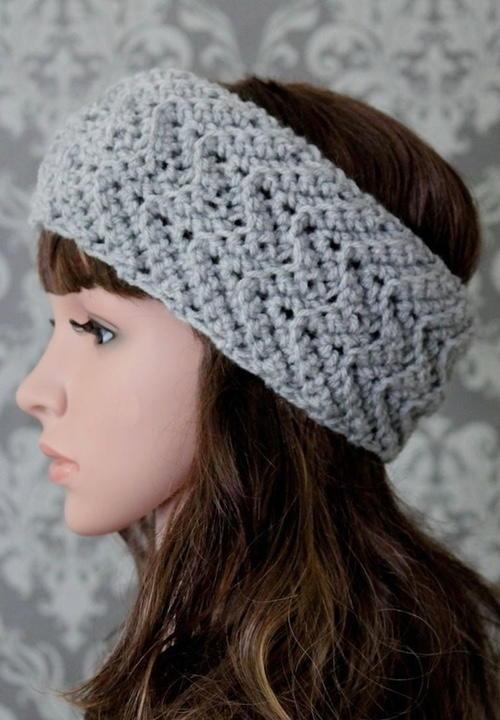 Free Baby Crochet Headband Pattern