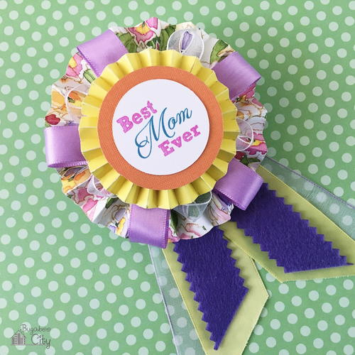 Best Mom Ribbon Mothers Day Present