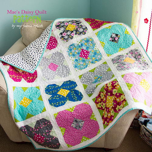 Maes Daisy Lap Quilt Pattern