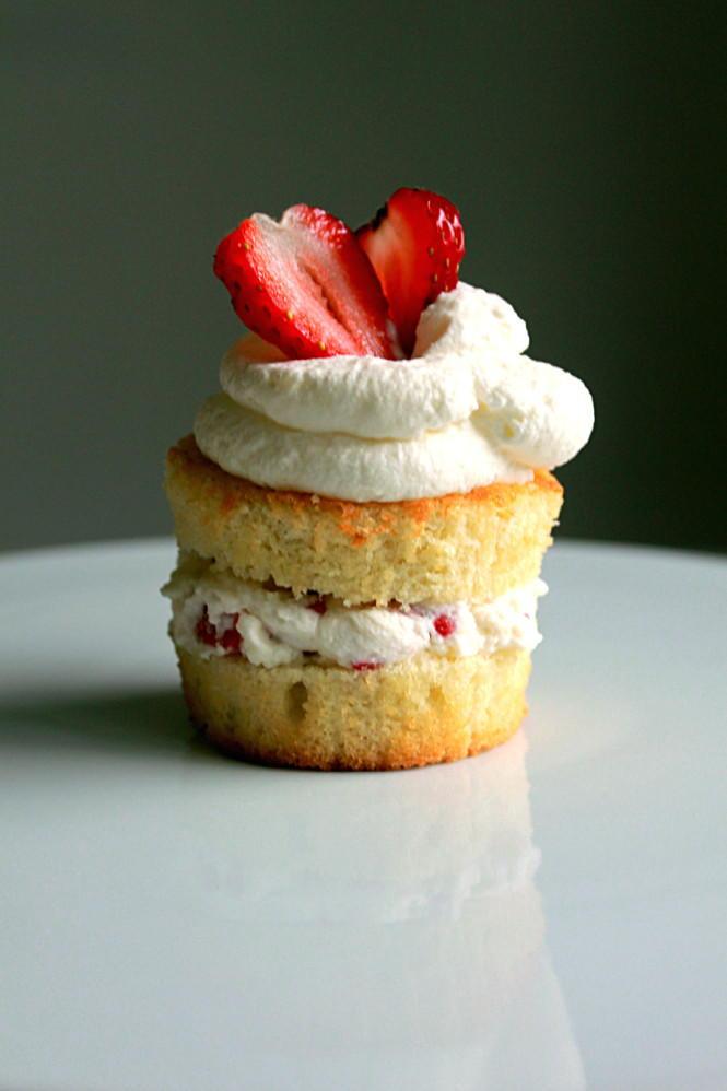 Muffin Tin Victoria Sponge Cakes Thebestdessertrecipes Com