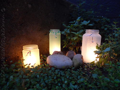 Glowing Garden DIY Lanterns