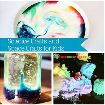 Science Crafts and Space Crafts for Kids