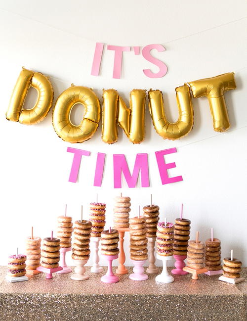 Wedding Donut Dessert Table