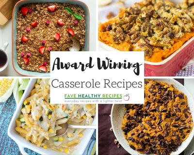 30 Award Winning Casserole Recipes