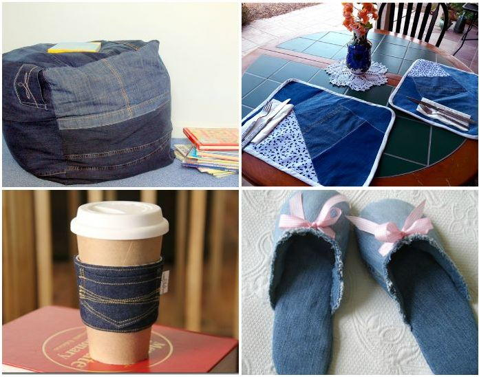 5ca1dd1778 40+ Ideas for What to Make with Old Jeans