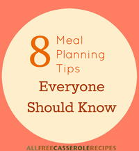 8 Meal Planning Tips Everyone Should Know