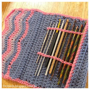 Chevron Crochet Hook Case