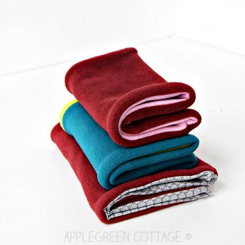 How To Make A Fleece Neck Warmer Allfreesewing Com