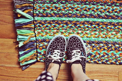 Beginner DIY Braided Rug