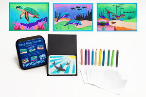 Deep Blue Sea Sand Painting Kit Giveaway