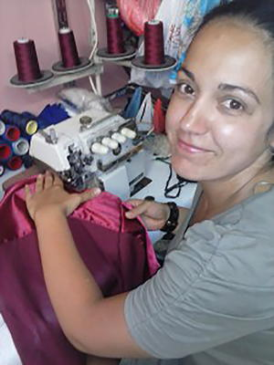 Daniela Koeva from Sewing for a Living