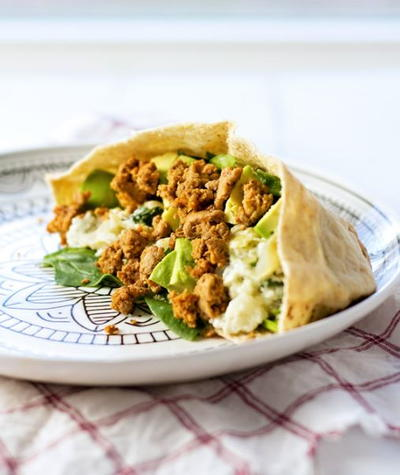 Ground Turkey Pita Pockets Recipe