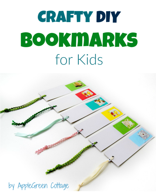 DIY Paper Bookmarks for Kids
