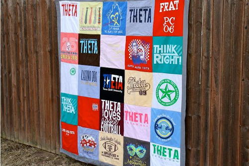 Cuddly Cotton T-Shirt Quilt