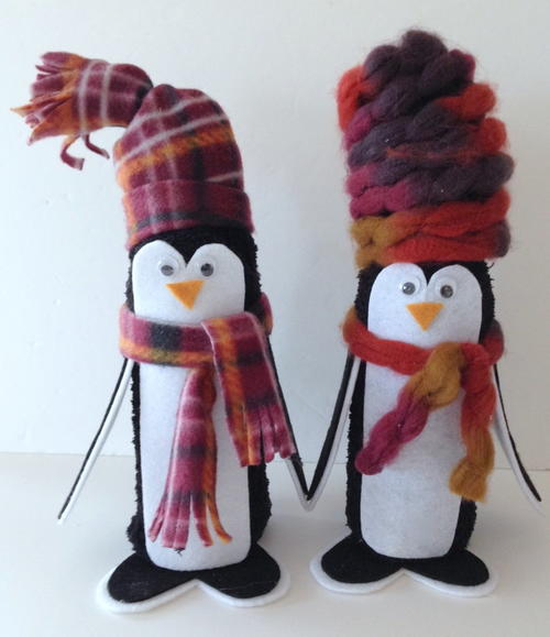 Snowy Day Pengiun Craft