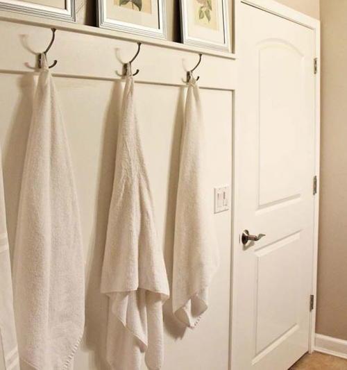 Towel Hook Ideas: Super Simple DIY Towel Hooks