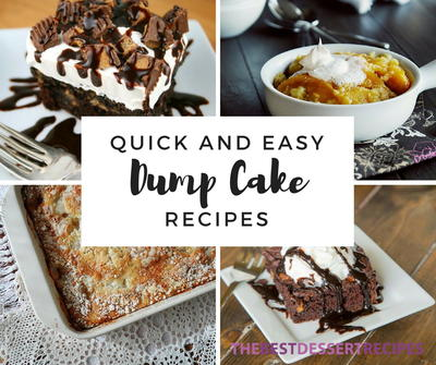 28 Quick and Easy Dump Cake Recipes