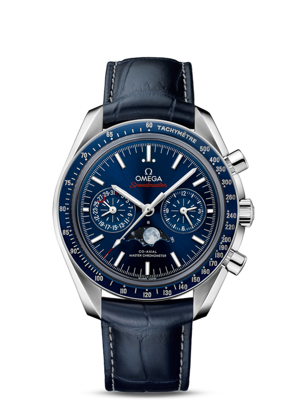 Omega Speedmaster Moonwatch Co-Axial Master Chronometer Moonphase Chronograph 304.33.44.52.03.001